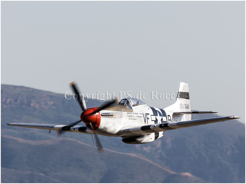 P51D VF-B Spam Can, fighter plane, ww2,